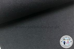 Bündchen UNI Anthrazit / dunkel Grau