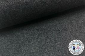 Bündchen Anthrazit / dunkel Grau meliert