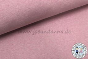 Bündchen Rosa meliert -Überbreite- 95cm