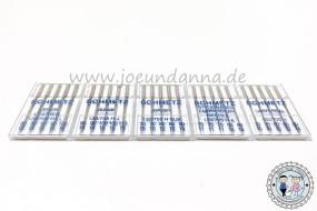 Nähmaschinennadeln SCHMETZ 5 Stück Flachkolben 130/705