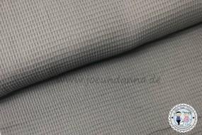 Waffelpique Baumwolle Grau