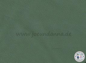 Lederzuschnitt Army-Grün