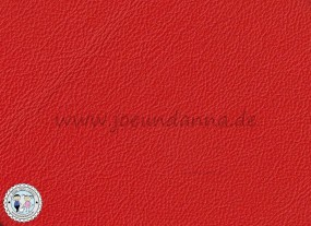 Lederzuschnitt Rot