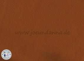 Lederhaut - 1m² Lederzuschnitt Cognac/mittel Braun
