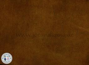 Lederhaut - 1m² Lederzuschnitt NUBUK Walnuss mittel Antik
