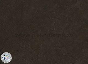 Lederzuschnitt GLITZER-dunkel Braun