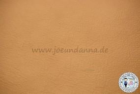 Lederzuschnitt Beige/ Sand