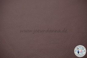 Lederhaut - 1m² Lederzuschnitt dunkel Braun