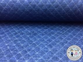 Stepp-Jersey Navy Blau meliert