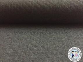 Stepp-Jersey dunkel Grau meliert