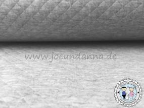 Stepp-Jersey Grau meliert