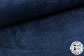 elastischer Babycord - Stretch-Cord - Navy dunkel Blau