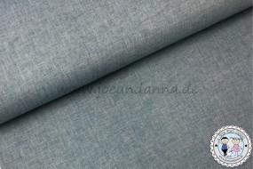 Musselin meliert - hell Jeans - Baumwollstoff