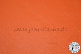 Lederzuschnitt Orange