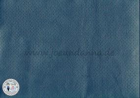 Lochleder Lederzuschnitt dunkel Blau