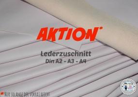 AKTION Lederzuschnitt Flieder-Rosé -SOFT-