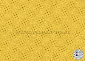Lochleder Lederzuschnitt Gelb