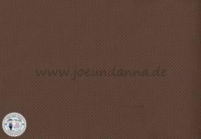 Lochleder Lederzuschnitt Braun