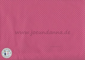 Lochleder Lederzuschnitt Lollypop - Pink