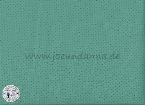 Lochleder Lederzuschnitt Pastell-Mint