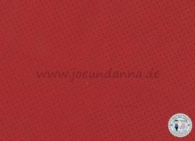 Lochleder Lederzuschnitt Rot