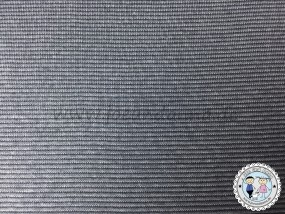 Jersey mini Streifen 1mm Grau/ Anthrazit