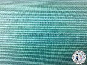 Jersey mini Streifen 1mm Mint/ pastell Mint