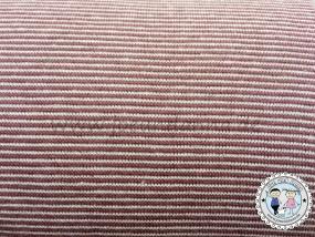 Jersey mini Streifen 1mm Beere/ Rosa