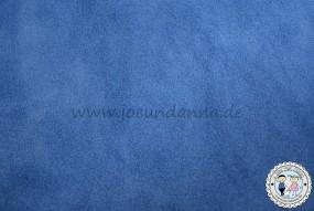 Veloursleder mittel Blau