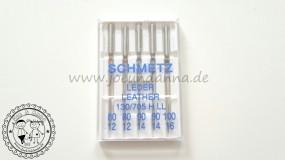 Leder- Nähmaschinennadeln SCHMETZ 80-90-100 5 Stück Flachkolben 130/705